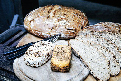 Snack, Cheese, Bread, Food, Käseplatte, Benefit From