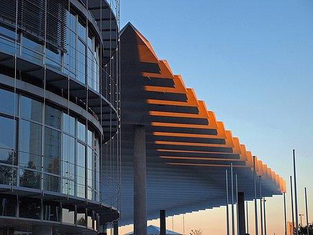 Architecture, Fair, Building, Steel, Fair Construction