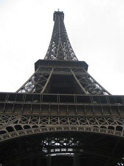 Eiffel, Tower, Paris, France, Landmark, French, Famous