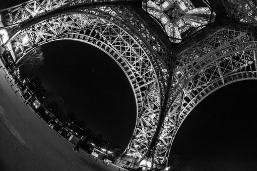 Tour Eiffel, Paris, France, French Touch, French, Tower
