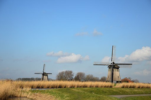 Windmill, Holland, Tradition, Dutch, Netherlands