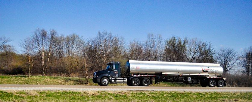 Tank, Tank Truck, Truck, Transport, Gasoline, Tanker