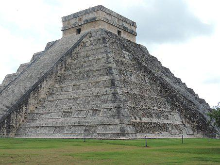Chichen Itza, Pyramid, Mexico, Yucatan, Mayan, Ancient