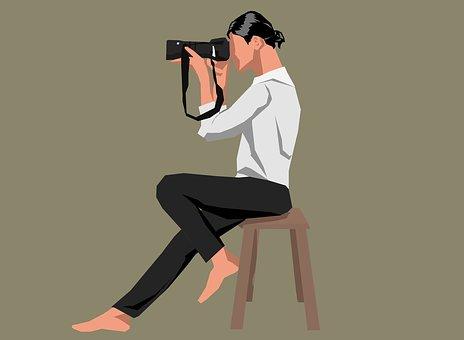 Girl, Female, Woman, Adult, Take Photo, Holding Camera