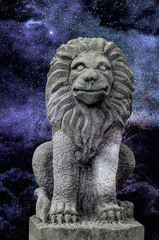 Sculpture, Statue, Art, Lion