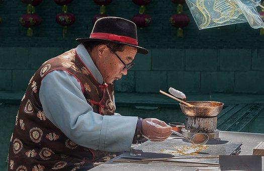 Village, Tradition, Sugar, Art, Old Man