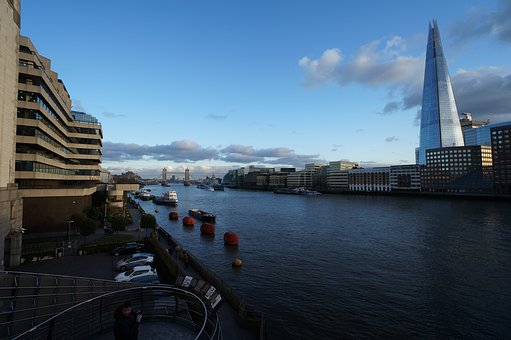 Water, Architecture, Travel, City, River, London