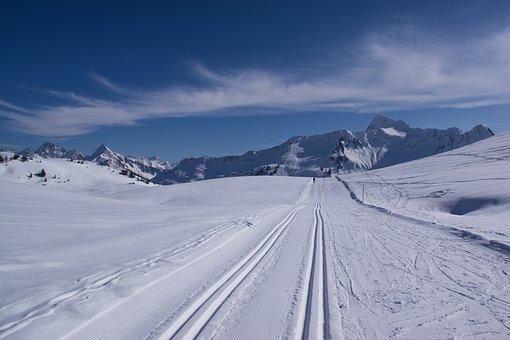 Snow, Winter, Mountain, Cold, Ice, Cross Country Skiing