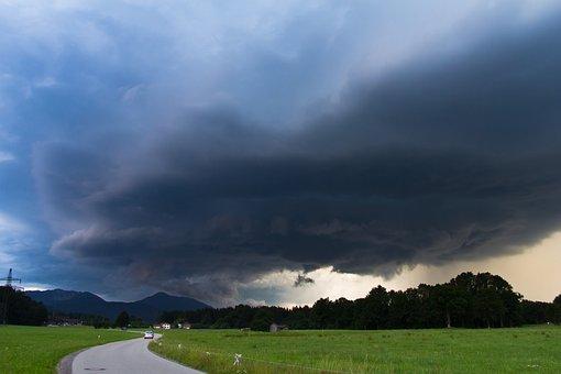 Thunderstorm, Storm, Mountains, Cumulonimbus