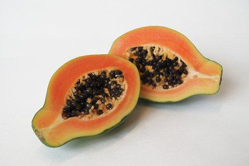Fruit, Food, Papaya, Sweet, Seed