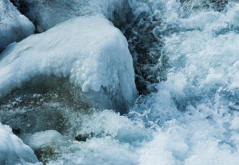Waters, Ice, Cold, Winter, Nature, Frozen, Frost