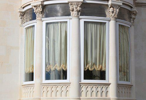 Italy, Sicily, Siracuse, Architecture, Window, Hotel