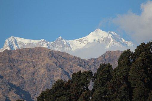 Mountain, Panoramic, Snow, Travel, Landscape