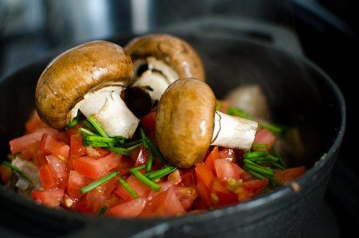 Food, Vegetable, Meal, Cooking, Epicure, Mushroom