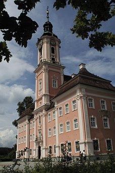 The Monastery Of Birnau, Monastery Lake Constance