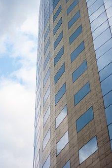 Architecture, Tallest, Skyscraper, Glass Items, Office