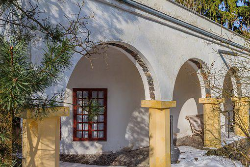 Architecture, House, Building, Old, Door, Window