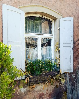 Home, Window, Door, Architecture, Wood, Old, Building