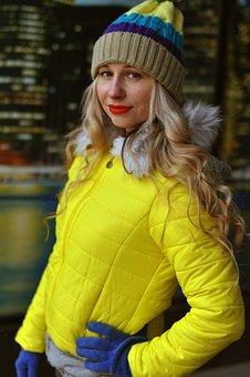 Autumn, Winter, Portrait, Outdoors, People, City, Girl