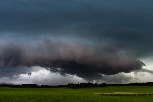 Forward, Landscape, Weather, Sky, Rain, Thunderstorm