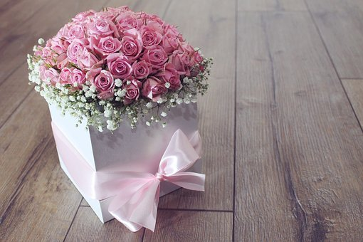 Flower, Bouquet, Rose, Roses, Pink, Color, Flowers Send