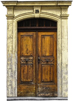 Sand-stone Portal, Portal, Old Door, Art Nouveau, Door