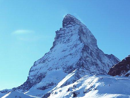 Snow, Mountain, Ice, Mountain Summit, Winter, Zermatt