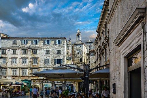 Croatia, Split, Old Town, Bell Tower