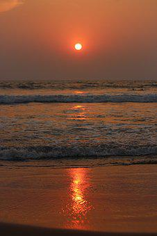 Sunset, Water, Evening, Dusk, Dawn, Sun, Ocean, Sea