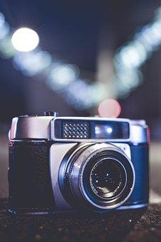 Lens, Equipment, Technology, Aperture, Shutter, Zoom