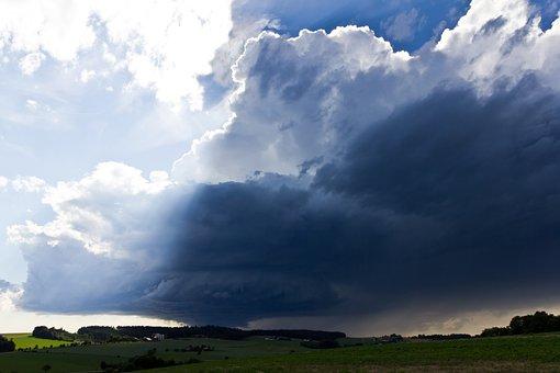 Thunderstorm, Storm, Lp-super Cell, Super Cell, Sunbeam