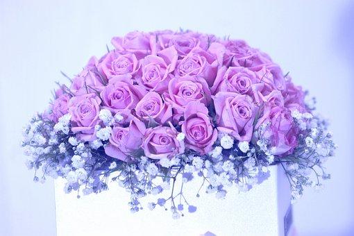 Rose, Bouquet, Wedding, Wedding Anniversary
