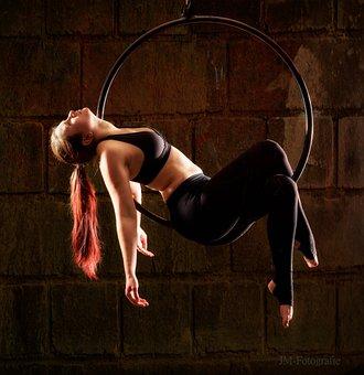 Train, Acrobat, Flexibility, Aerobics
