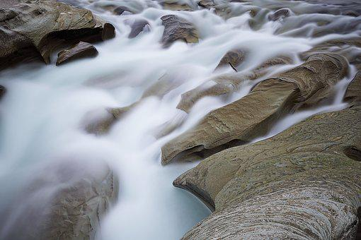 Waters, Nature, Cold, Water, Bach, River
