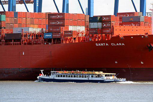 Cargo Container, Industry, Export, Majority