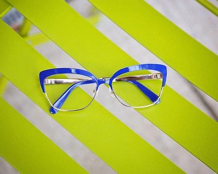 Abstract, Creativity, Eye Glasses, Neon, Frames
