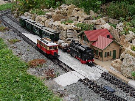 Garden Railway, Model Train, Lgb, Hobby