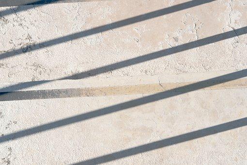 Concrete, Texture, Linear, Pattern, Wall, Light