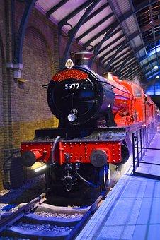 Hogwarts, Harry Potter, Studio, London, Train