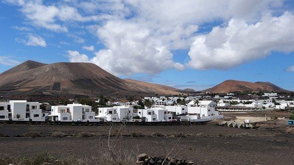 Nature, Travel, Panorama, Mountain, Sky, Canary Islands