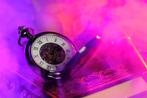Clock, Pocket Watch, Time, Time Of, Movement, Pointer