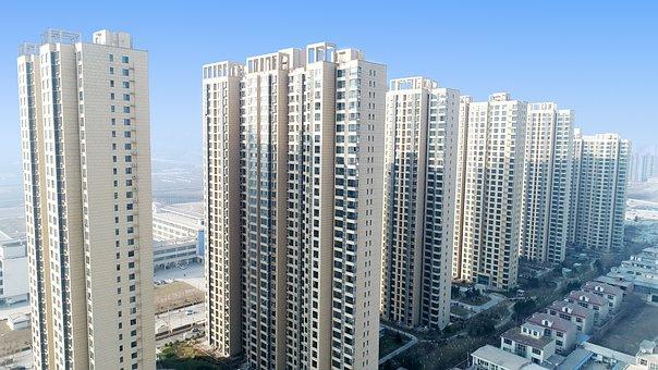 Building, City, Skyscraper, Apartment