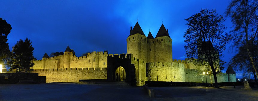 Architecture, Castle, Travel, Panoramic, Tower