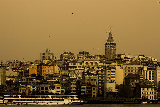 City, Architecture, Travel, Townscape, Panoramic