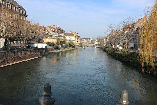 Body Of Water, River, Architecture, Travel, City