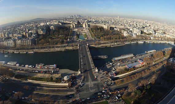 City, Panoramic, Cityscape, Travel, Architecture