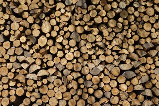 Pile, Batch, Background, Dry, Texture, Firewood