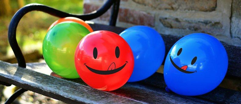 Balloons, Colorful, Joy, Pleasure, Color, Love, Fun