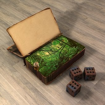 Book, Jungle, Fantasy, Game Of Table, Jumanji