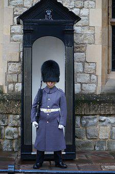 People, Uniform, Doorway, Door, Guard, Tower, London
